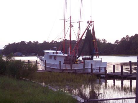 Calabash Trawler atdock