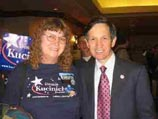 Sandra and Dennis Kucinich