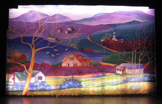 christmas bus backdrop a play by bob inman produced at children s