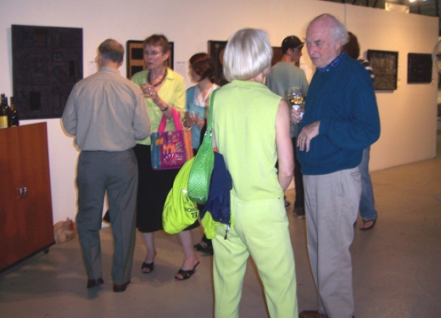 CO exhibit with visitors
